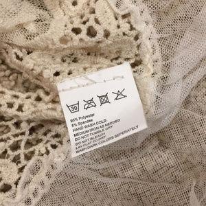 Swim - SEXY lace bikini beach crochet cover up beach